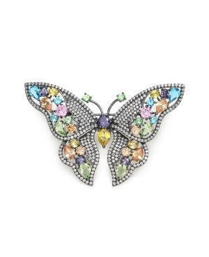 Broche 17361-F  Lineargent