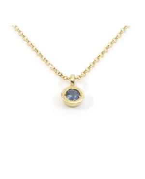 Unic Collar Draa Zafiro Azul